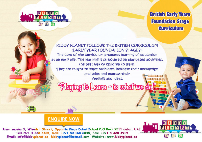 childcare play and foundation stage