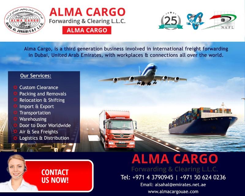 Alma Cargo Forwarding & Clearing LLC   B2B Directory